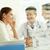 médicos · trabajo · grupo · mirando · portátil · Screen - foto stock © pressmaster