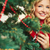 wesoły · christmas · dość · kobiet · patrząc · kamery - zdjęcia stock © pressmaster