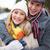 Couple in winterwear stock photo © pressmaster