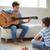 clássico · guitarra · branco · música · madeira · arte - foto stock © pressmaster