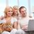 Family with computer stock photo © pressmaster