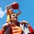 rodziny · koszykówki · gracze · obraz · para - zdjęcia stock © pressmaster