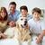 dom · rodzinny · portret · szczęśliwą · rodzinę · domowych · człowiek · chłopca - zdjęcia stock © pressmaster