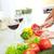 молодые · повар · лук · кухне · женщины - Сток-фото © pressmaster