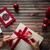 Noel · semboller · beyaz · el · renkli · toplama - stok fotoğraf © pressmaster