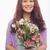 kadın · çiçekler · portre · pozitif · kadın - stok fotoğraf © pressmaster
