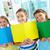 portret · schoolmeisje · boeken · klas · meisje - stockfoto © pressmaster