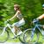 biciklisták · lovaglás · vidéki · út · kettő · aktív · férfi - stock fotó © pressmaster