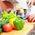 cutting pepper stock photo © pressmaster