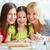 szczęśliwy · kobiet · portret · rodzinny · trzy · kobiety · kuchnia - zdjęcia stock © pressmaster
