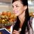 klant · supermarkt · afbeelding · mooie · vrouw · notepad · naar - stockfoto © pressmaster