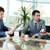 affaires · conversation · équipe · commerciale · communiquer · femme · papier - photo stock © pressmaster