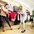 dois · meninas · isolado · branco · dançar - foto stock © pressmaster