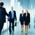 reunión · de · negocios · gente · de · negocios · reunión · otro · oficina · corredor - foto stock © pressmaster