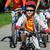 genitori · figlio · ciclo · parco · sorriso · uomo - foto d'archivio © pressmaster