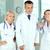 medici · squadra · posa · ospedale · giovani · medico - foto d'archivio © pressmaster