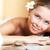 aangenaam · procedure · mooie · gelukkig · vrouw · wachten - stockfoto © pressmaster