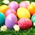 renkli · paskalya · yumurtası · arka · plan · Paskalya · tebrik · kartı · yumurta - stok fotoğraf © pressmaster