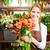 primero · tulipanes · retrato · jóvenes · femenino · florista - foto stock © pressmaster