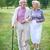 estate · felice · anziani · parlando · piedi - foto d'archivio © pressmaster