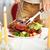 iştah · açıcı · kalamar · çatal · ev · mutfak - stok fotoğraf © pressmaster