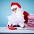 чтение · пост · изображение · Дед · Мороз · куча · письма - Сток-фото © pressmaster