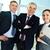 parceiros · de · negócios · retrato · três · olhando · câmera - foto stock © pressmaster