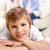 vidám · fiú · portré · mosolyog · fiú · szülők · nő - stock fotó © pressmaster