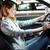 güzel · genç · kadın · sürücü · zarif · yeni · araç · gerekli - stok fotoğraf © pressmaster