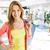 consumidor · shopping · retrato · bastante · olhando - foto stock © pressmaster
