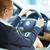 zakenvrouw · rijden · auto · mooie · brunette · geld - stockfoto © pressmaster