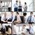teamwerk · collage · drukke · mensen · bespreken · nieuwe - stockfoto © pressmaster