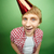 участник · парень · 3d · человека · hat · шаров - Сток-фото © pressmaster