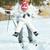 anne · kız · kayakçılık · birlikte · kar · kış - stok fotoğraf © pressmaster