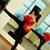 treinamento · ginásio · retrato · mulher · jovem · vermelho · luvas · de · boxe - foto stock © pressmaster