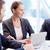 megbeszélés · csoport · üzleti · partnerek · tervez · munka · megbeszélés - stock fotó © pressmaster