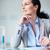 Pensive businesswoman stock photo © pressmaster