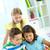 pequeno · usuários · retrato · inteligente · alunas · olhando - foto stock © pressmaster