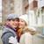 glimlachend · paar · portret · gelukkig · vent · vriendin - stockfoto © pressmaster