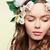 tavasz · mosoly · közelkép · csinos · lány · természetes - stock fotó © pressmaster