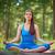 yoga in park stock photo © pressmaster