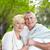 verão · maduro · casal · mulher · parque · pessoa - foto stock © pressmaster