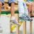 脚 · 子供 · 友達 · 座って · スイング - ストックフォト © pressmaster