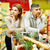 couple in supermarket stock photo © pressmaster