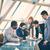 reunião · de · negócios · grupo · pessoas · de · negócios · discutir · dados · planejamento - foto stock © pressmaster