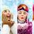 inverno · colagem · gelo · padrões · vidro · abstrato - foto stock © pressmaster