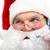 призыв · Дед · Мороз · фото · гарнитура · говорить · лице - Сток-фото © pressmaster