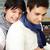 édes · átölel · aranyos · homoszexuális · pár · ölelkezés - stock fotó © pressmaster
