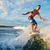 mer · aventureux · homme · eau · nature - photo stock © pressmaster