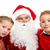 Santa with kids stock photo © pressmaster